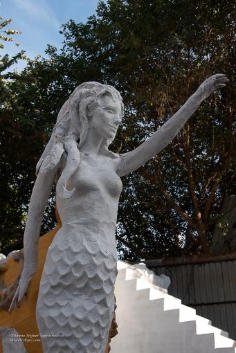Detailed sculptures