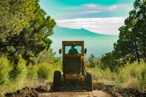 Bulldozing Paso de Cortés